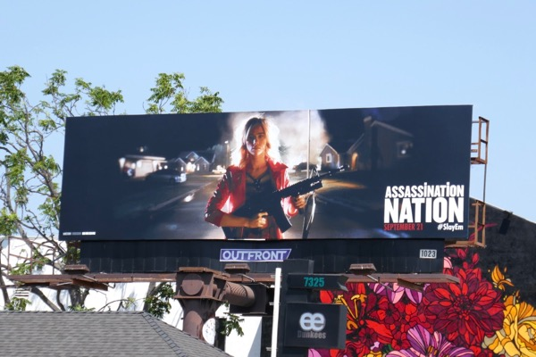 Assassination Nation film billboard