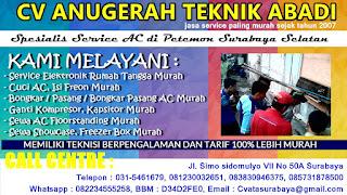 Spesialis Service AC di Petemon Surabaya Selatan