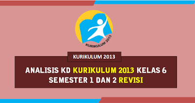 Analisis KD Kelas 6 K13 Semester 1 & 2 Revisi Terbaru 2019