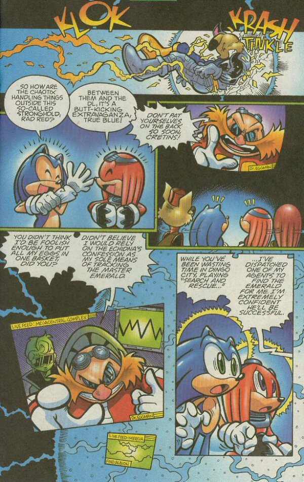 Read online Sonic The Hedgehog comic -  Issue #140 - 17