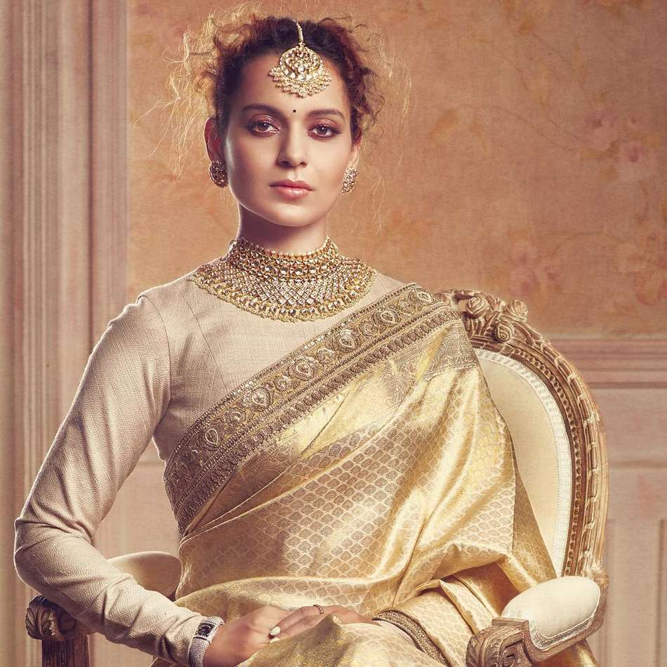 Kangana Ranaut Poses for Harper's Bazaar Bride Magazine September 2017