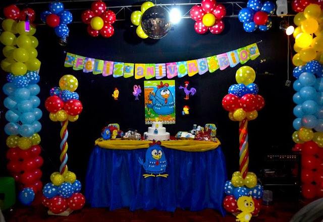 Ideias para a festa Galinha Pintadinha