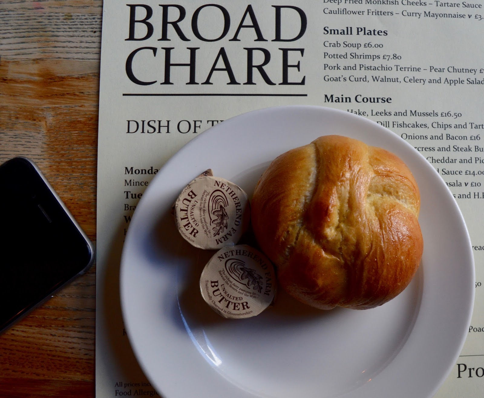 Oktoberfest 2016 | The Broad Chare Newcastle - bread roll