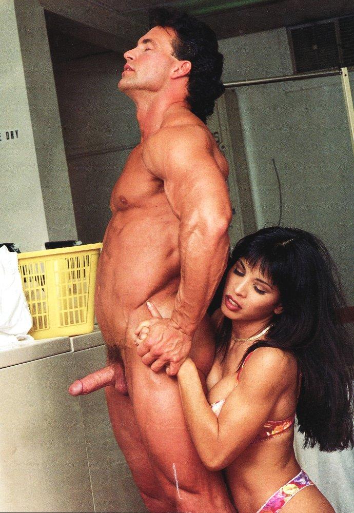 Couple having funny sex