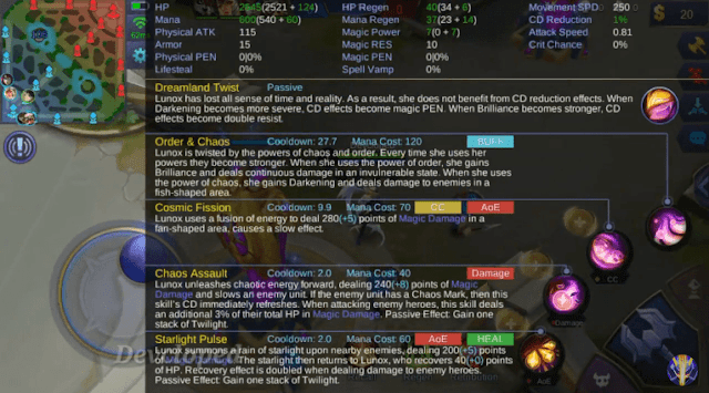 Skill lunox mobile legends