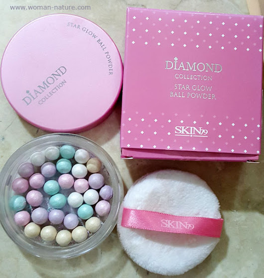 Skin79 Diamonds Star Glow Powder Ball - Polvos compactos iluminadores