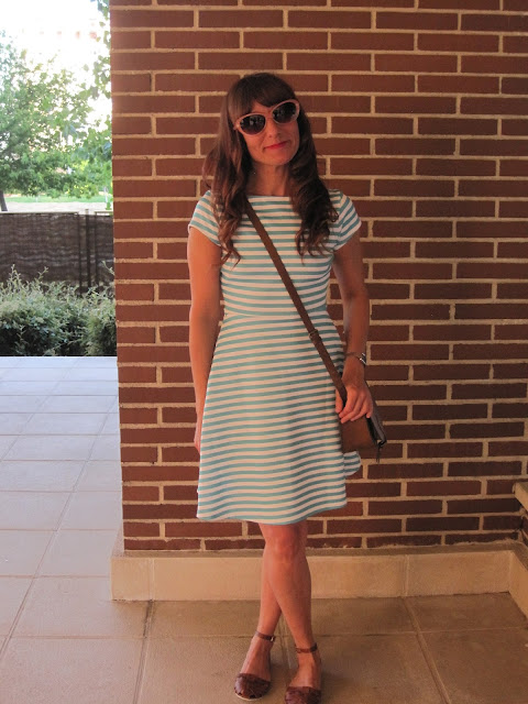 Vestido de rayas / Striped dress