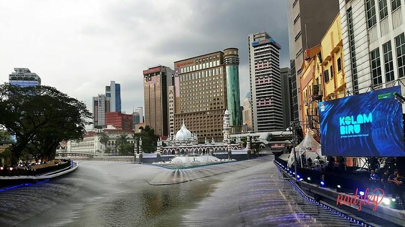 Tarikan River of Life @ Kolam Biru Umpama Berada Diluar Negara