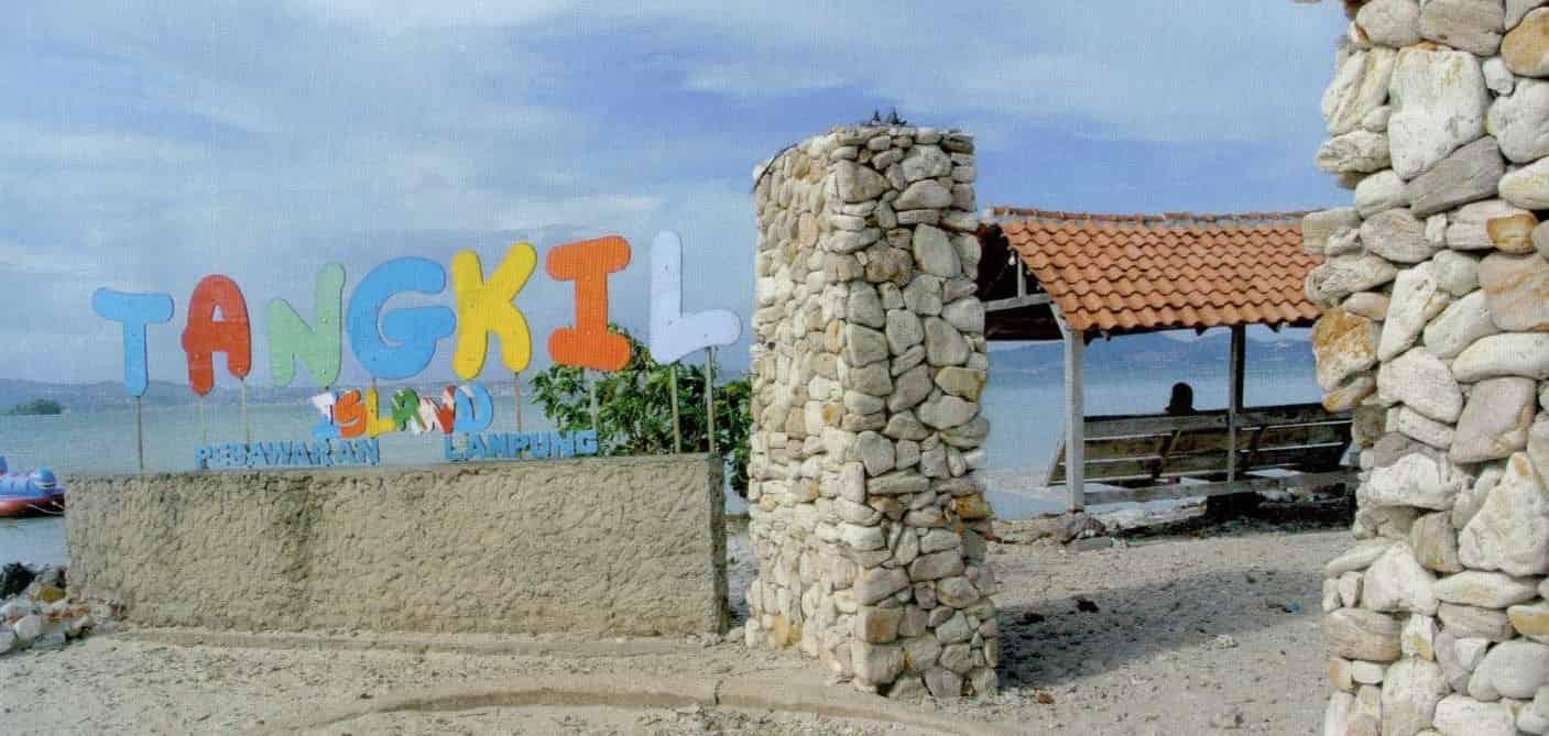 Informasi Wisata Pulau di Lampung - Pulau Tangkil