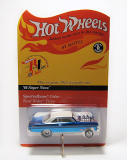 Hot Wheels RLC 2014 Rewards Car - '66 Super Nova