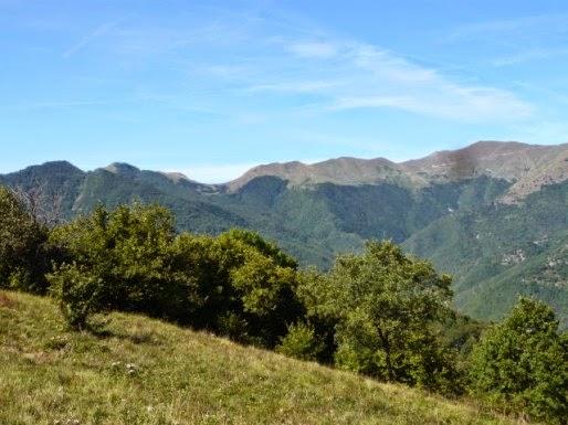 Blick zum Halbmond-Pass