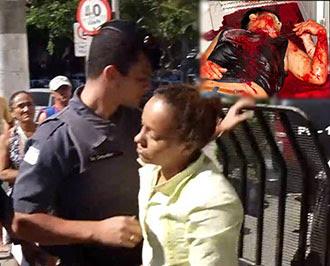 MULHER É PRESA APÓS MATAR MARIDO A FACADAS – CONFIRA...