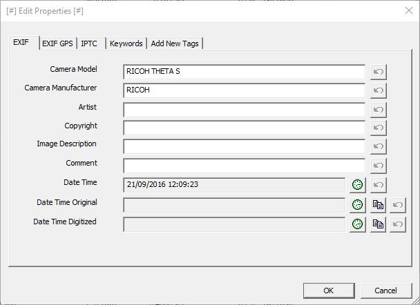 donnée gps a modifier avec le logiciel exiff pilot données gps philippe le bras infos2technos