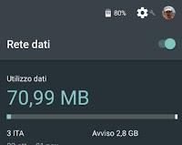 Se la connessione dati cellulare 3G o 4G non funziona (Android)