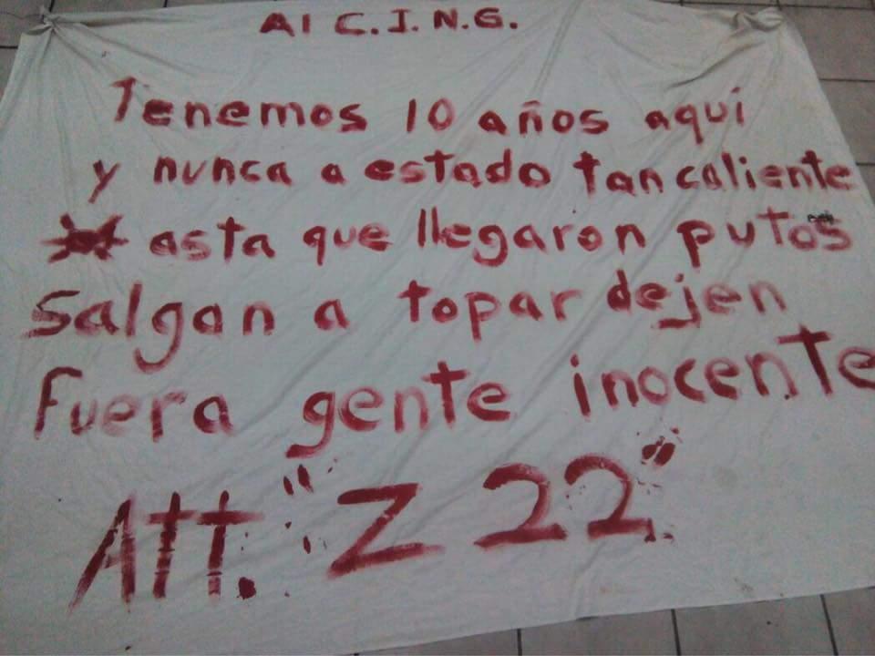 """""""SALGAN A DARSE EL TOPON"""", ZETAS RETAN AL CJNG A QUE SALGAN Y DEJEN DE CALENTAR LA PLAZA"""