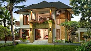 Ciri Khas Membuat Desain Rumah Bali Sederhana dan Contoh Gambar
