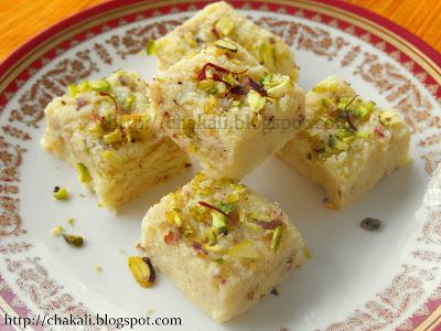 kalakand, Indian sweet, paneer kalakand, khova kalakand