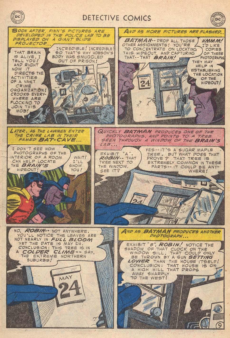 Read online Detective Comics (1937) comic -  Issue #210 - 11