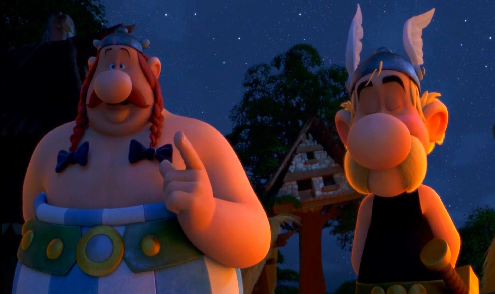 Asterix The Mansions Of The Gods