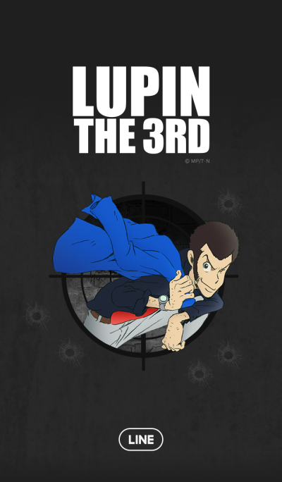 LUPIN THE 3rd(Cool Black)