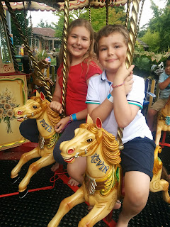Top Ender and Dan Jon Jr on the Carousel