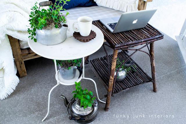 patio tables Funky Junk Interiors