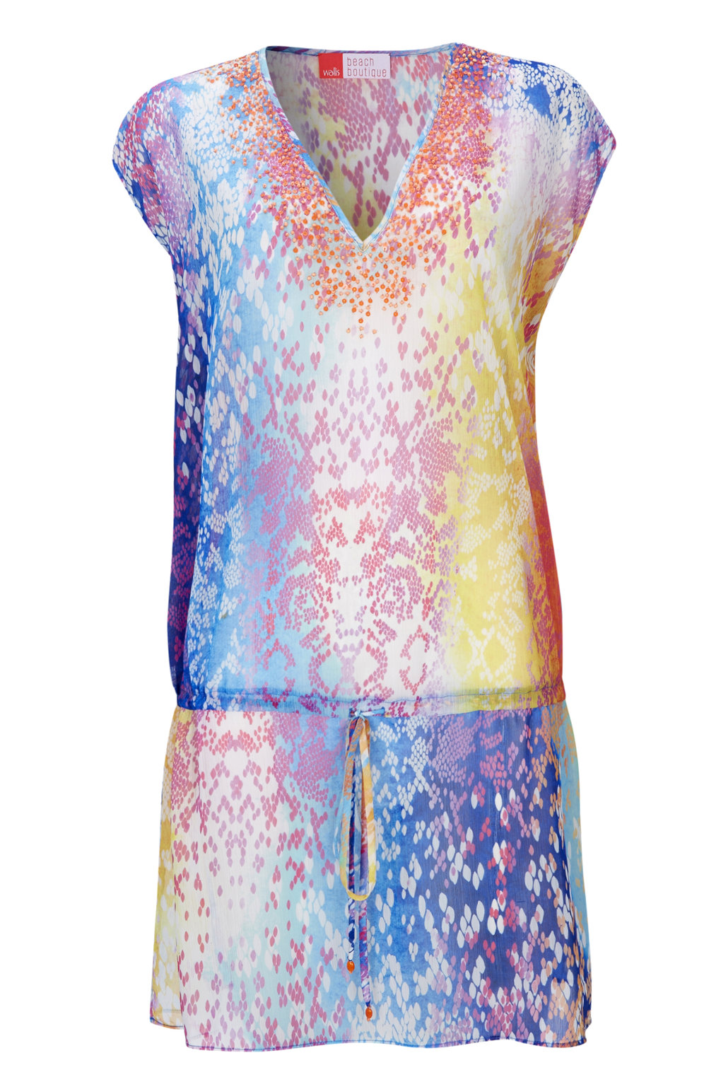Wallis Sleeveless Printed Kaftan