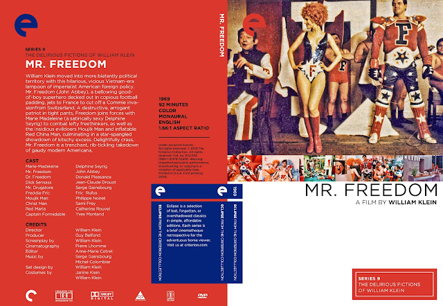 Mr Freedom DVD Cover