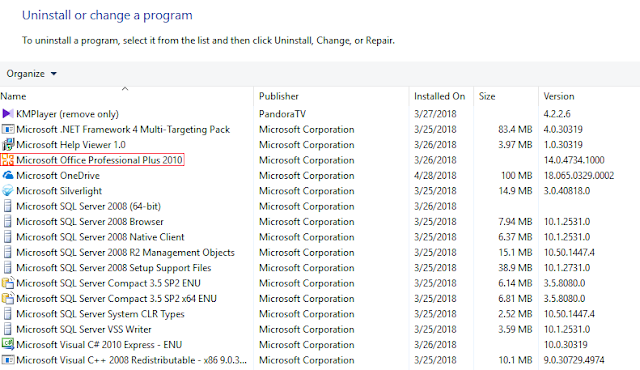 Memperbaiki Install-an Microsoft Office