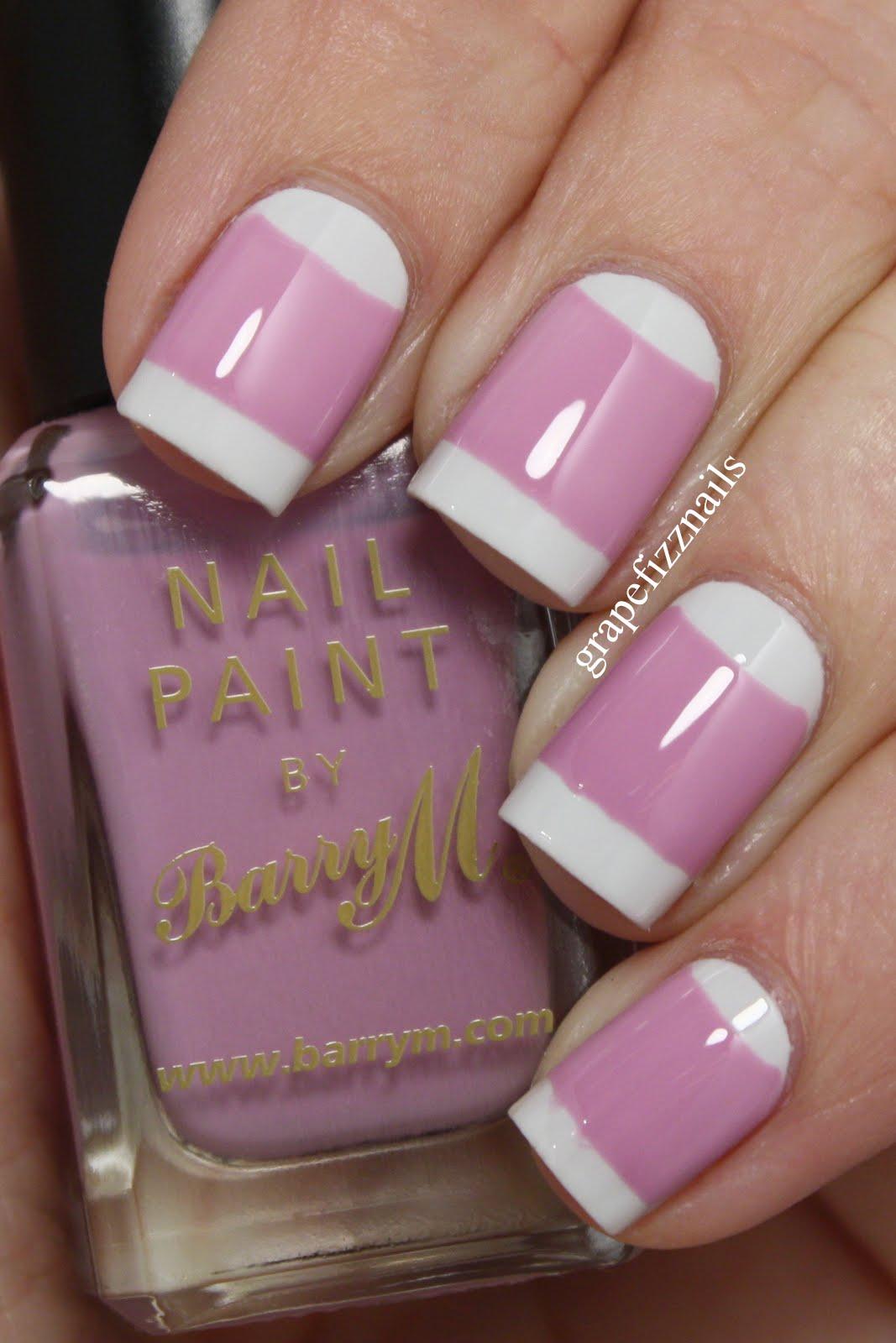 Grape Fizz Nails: Twinsie Tuesday, Vintage Mani