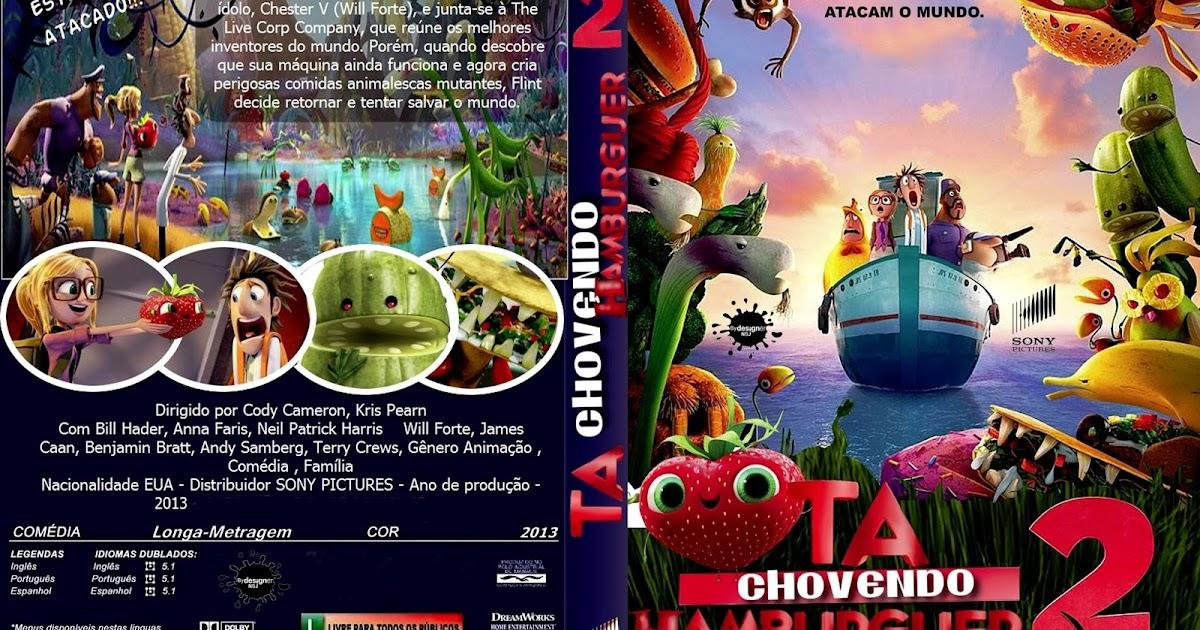 CAPAS DVD VIDEO JP: TÁ CHOVENDO HAMBURGUER 2