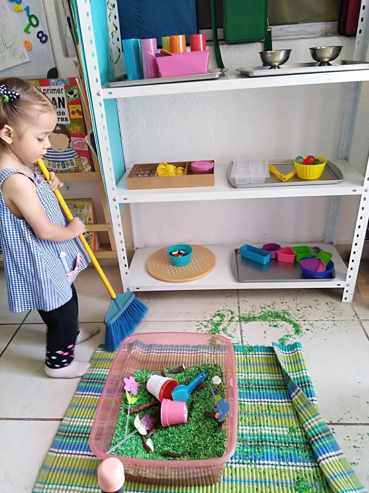 My Homeschool Project: Los niños y las tareas del hogar