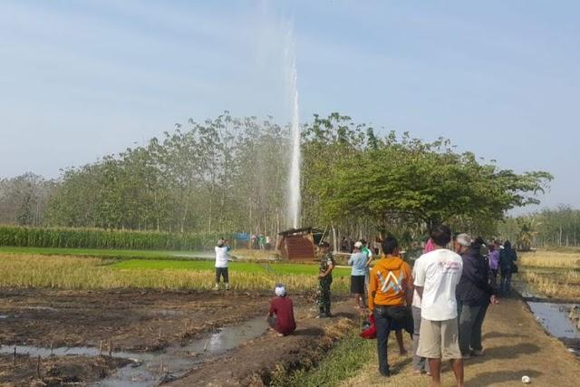 Semburan Gas di Indramayu, Berpotensi Bencana