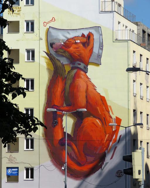 Asleep by Fat Heat, Dunajská ulica, Staré Mesto, Bratislava
