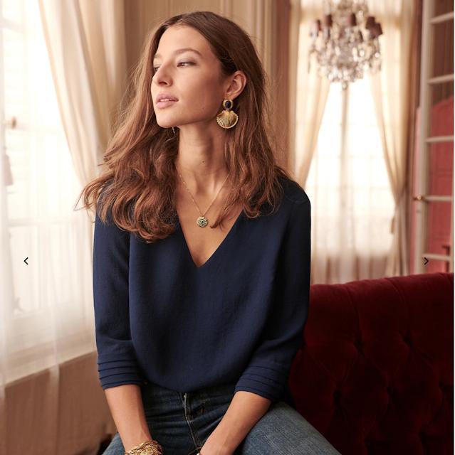sezane babeth blouse
