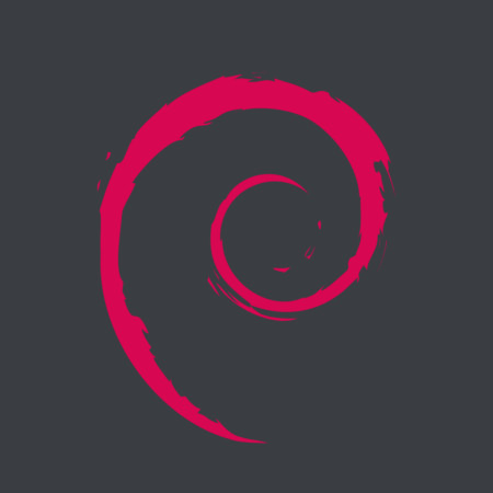 Logo do Debian