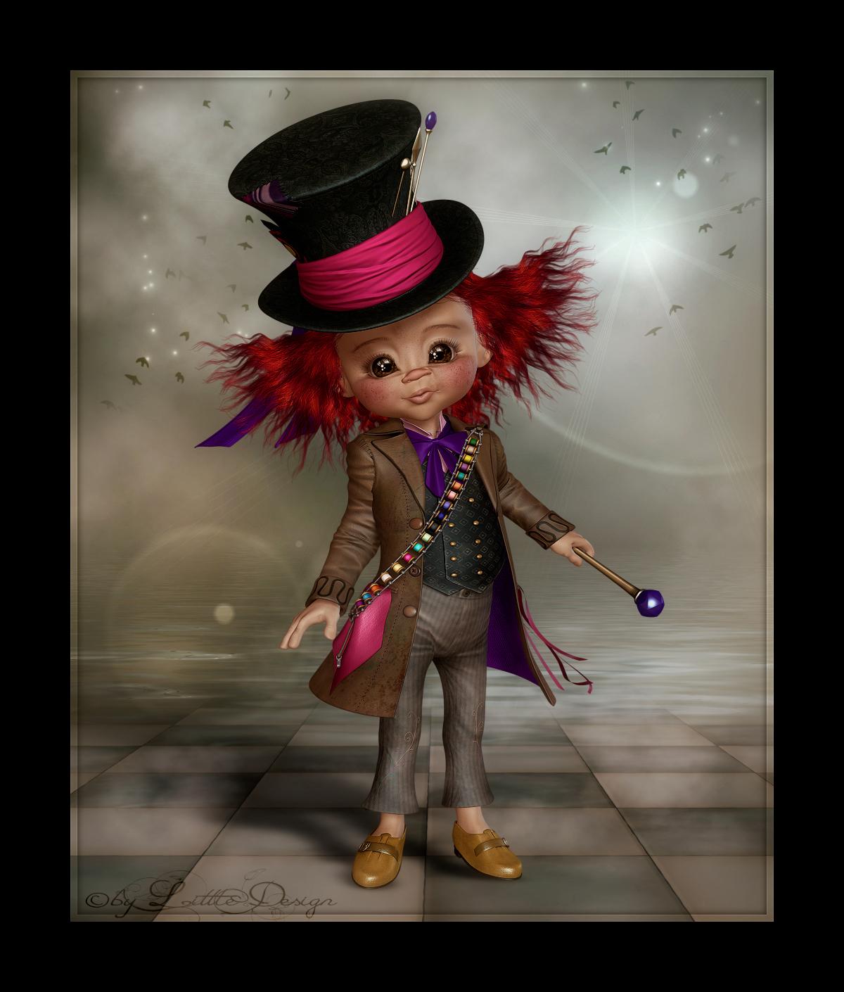 Littledesign The Crazy Hatter