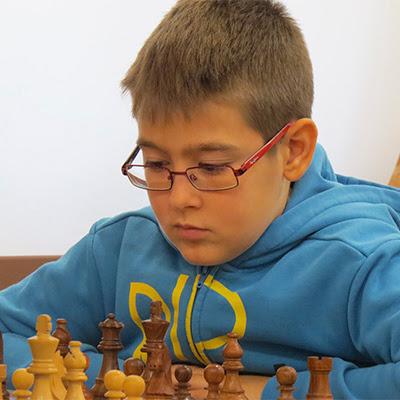 El ajedrecista Sub-12 NICOLÁS JIMÉNEZ MUÑOZ