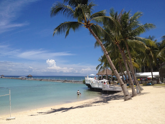 The beach at Pacific Cebu Resort