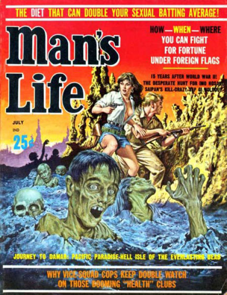 Cool Man S Life Magazine Covers Circa The 1950s