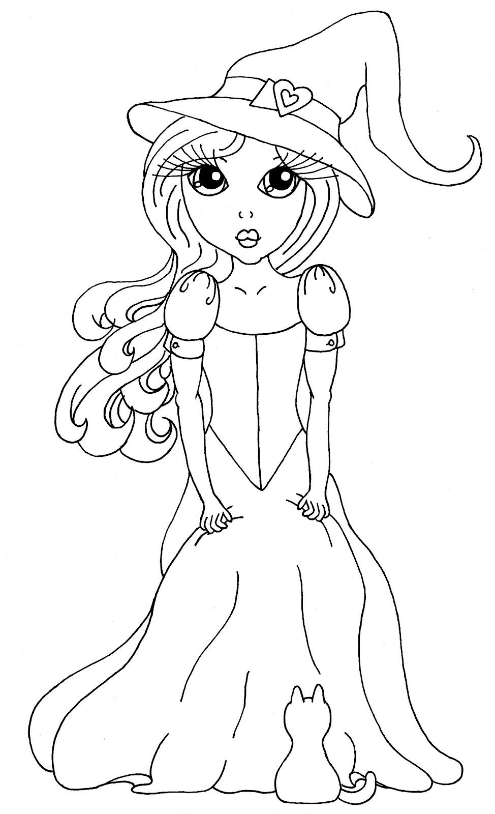 Cuddlebug Cuties: Josephine the Stylish Witch