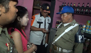 Operasi Hiburan Malam Jelang Natal Dan Tahun Baru, Pol PP Temukan Café Berkedok Warung Kopi
