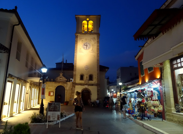 Church tower in Preveza centrum