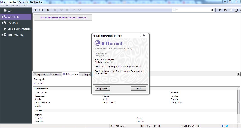 Resultado de imagen para BitTorrentPro 7