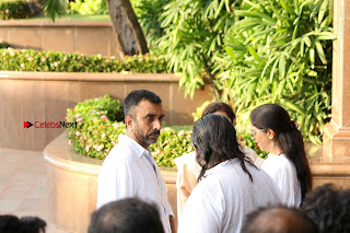 Actress Aishwarya Rai Father Prayer Meet Set 1  0041.JPG