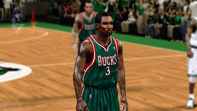 NBA 2K13 Brandon Jennings Player Update