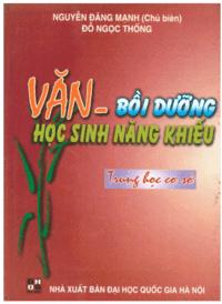 Văn Bồi Dưỡng Học Sinh Năng Khiếu THCS