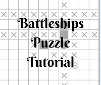 Online Battleship Puzzle Tutorial by Conceptis Puzzles