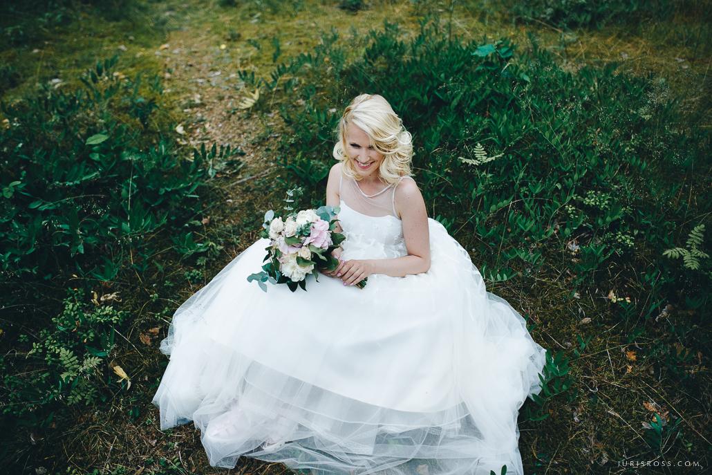 visskaistākā kāzu līgava