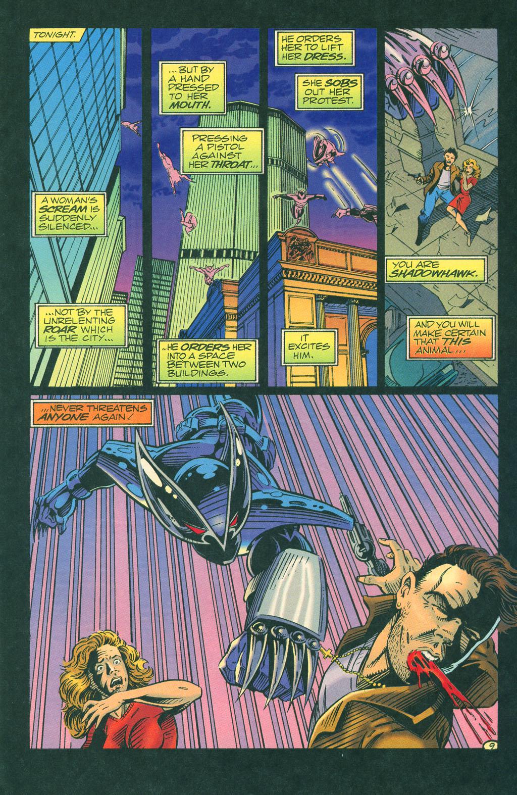Read online ShadowHawk comic -  Issue #4 - 12
